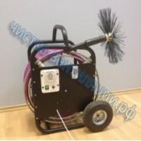 Щеточная машина для очистки вентиляции